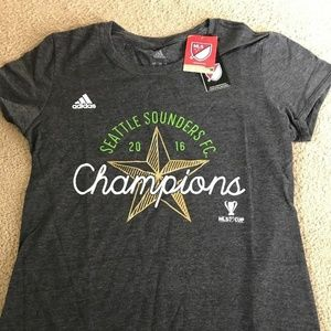 adidas Tops - ADIDAS Seattle Sounders Fc Soccer Cup T shirt